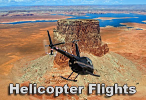 Helicopter Flight to Tower Butte